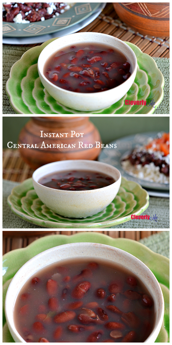 instant pot central american red beans | cleverly me - south florida