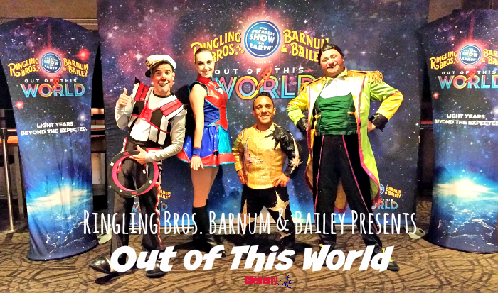 Ringling Bros. and Barnum & Bailey® Presents Out Of This World Show Experience. More at CleverlyMe.com