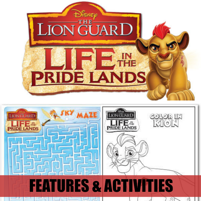 Print these The Lion Guard - Life In The Pride Lands Activity Sheets for free! Available at CleverlyMe.com