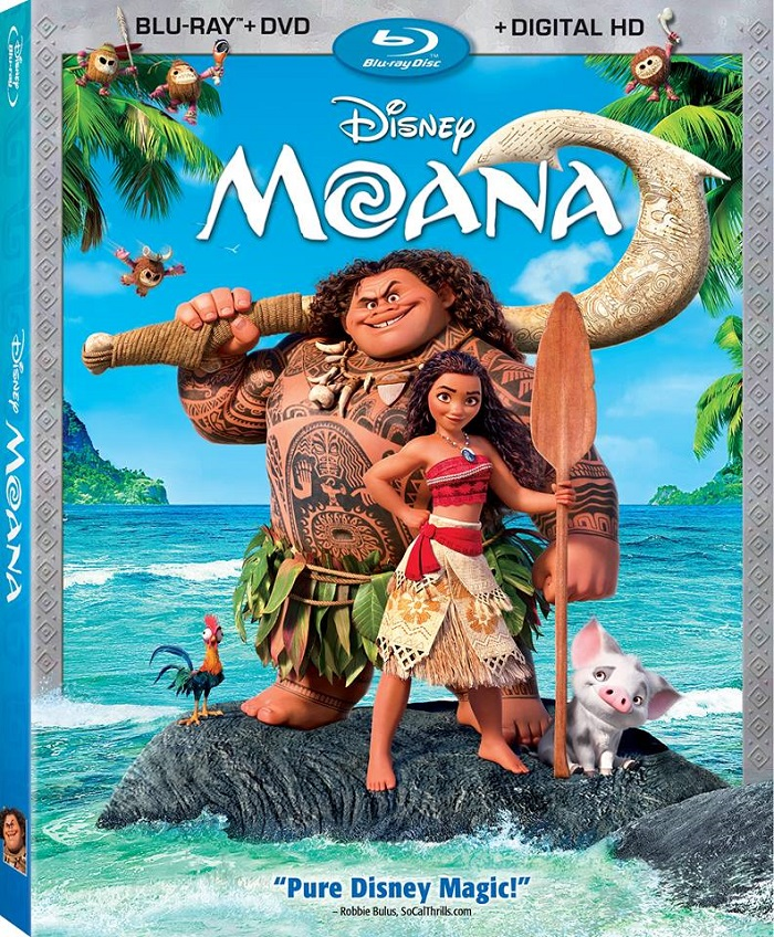 Disney's Moana Available Now on Blu-ray, DVD and On-Demand