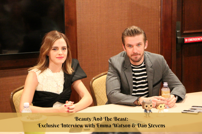 Beauty And The Beast Exclusive Interview With Emma Watson Dan Stevens More At