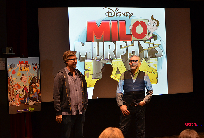 "Disney XD's ""Milo Murphy's Law"": Exclusive Interview with Dan Povenmire & Jeff ""Swampy"" Marsh. More at CleverlyMe.com"
