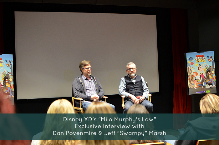 "Disney XD's ""Milo Murphy's Law"": Exclusive Interview with Dan Povenmire & Jeff ""Swampy"" Marsh"