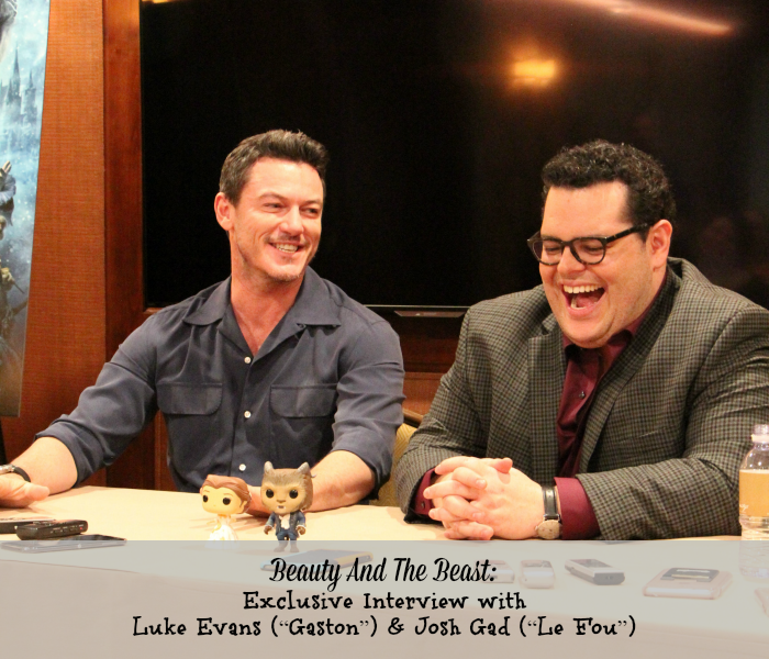 Beauty And The Beast: Exclusive Interview with Luke Evans and Josh Gad
