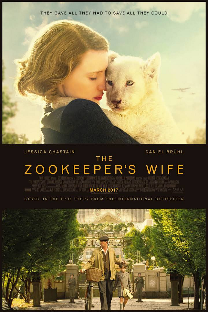 The Zookeeper's Wife Book + Tote Bag Giveaway. More at CleverlyMe.com