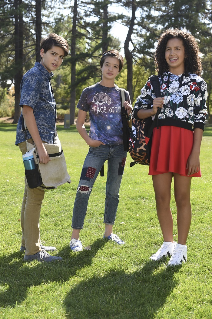 """Disney Channel's """"Andi Mack"""" - Is A Must-See Show!  Learn more about the show from its cast Peyton Elizabeth Lee (""""Andi Mack""""), Lilian Bowden (""""Bex""""), Lauren Tom (""""Cecilia""""), and Creator/Executive Producer Terri Minsky and Executive Producer Michelle Manning. More at CleverlyMe.com"""