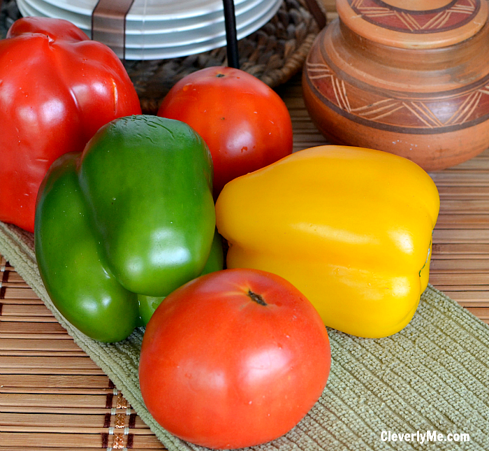 Looking for a fresh and delicious recipe? These Taco Stuffed Peppers are such an easy weeknight dinner that are packed with flavor and everyone will love! More at CleverlyMe.com