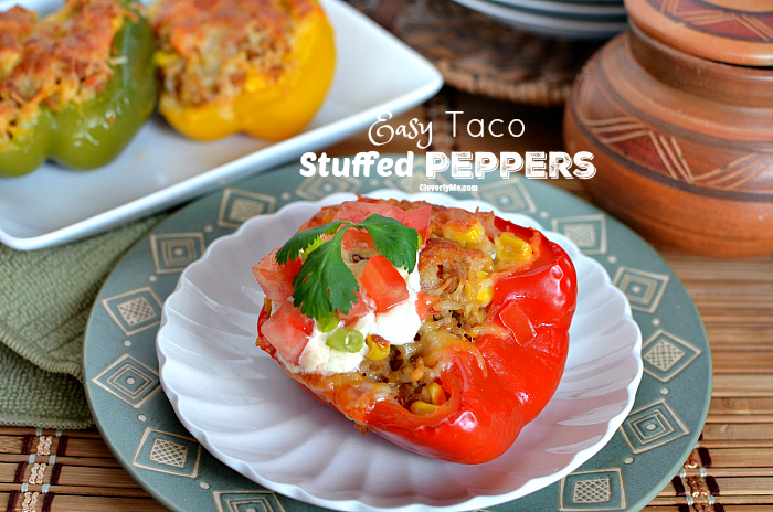 Easy Taco Stuffed Peppers Recipe