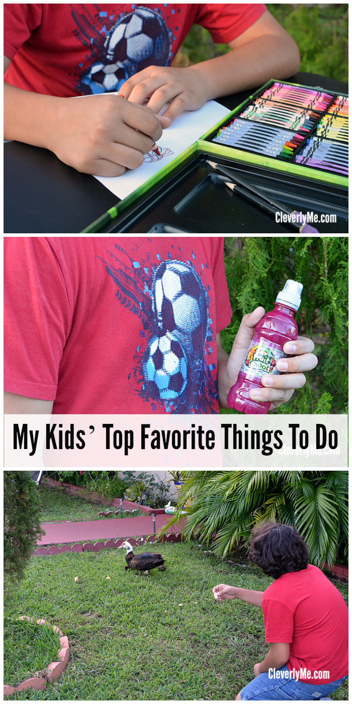 Are you looking for additional ideas on how to keep your kiddos entertained all year long? Find out My Kids' Top Favorite Things To Do to get new ideas. More at CleverlyMe.com