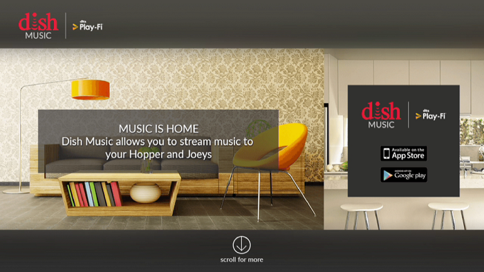 DISH Music is now available