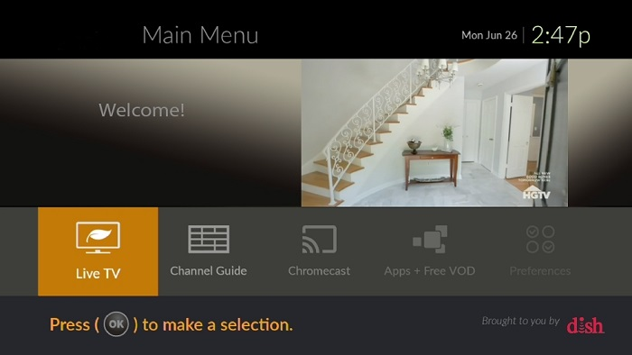 EVOLVE from DISH Transforms In-Room Hotel Entertainment
