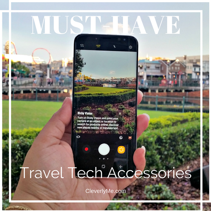 Going on a vacation soon? Save yourself some stress and headaches with our Must-Have Travel Tech Accessories. More at CleverlyMe.com