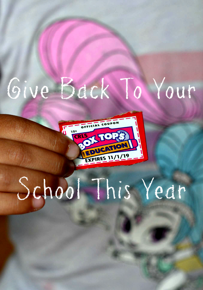 Give Back To Your School This Year