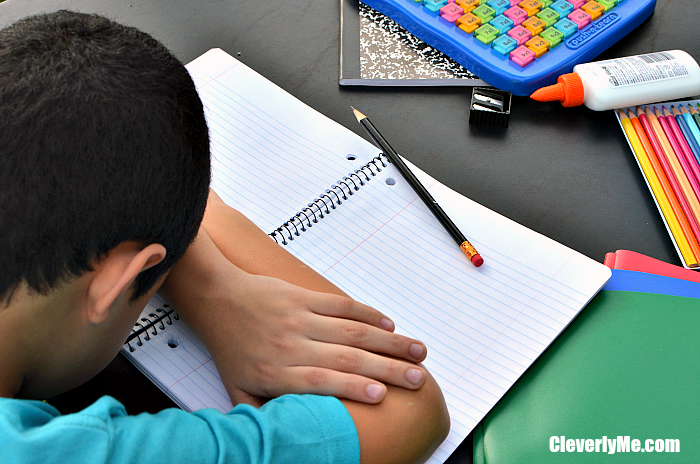 Should kids relax after school or jump in and get homework done? Here are our Tips For Ending Homework Struggles. More at CleverlyMe.com