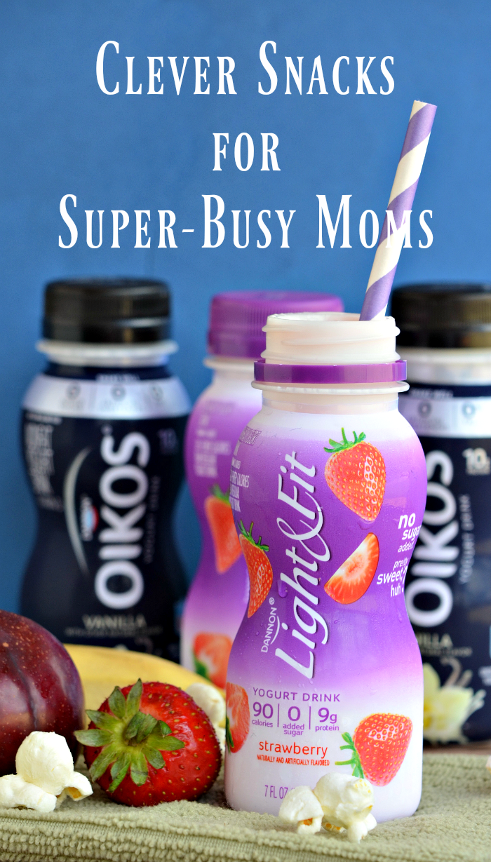 Attention all busy moms looking to find quick and easy snack ideas for you and your family. Check out these Clever Snacks for Super-Busy Moms. More at CleverlyMe.com