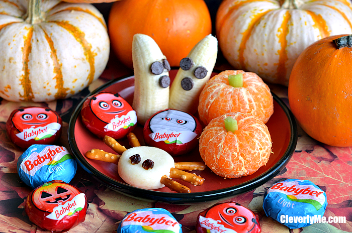 Super Easy, Fun, and Healthy Halloween Platter for Kids