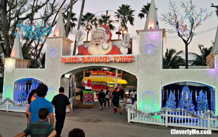 Santa's Enchanted Forest: A South Florida's Holiday Destination. More at CleverlyMe.com