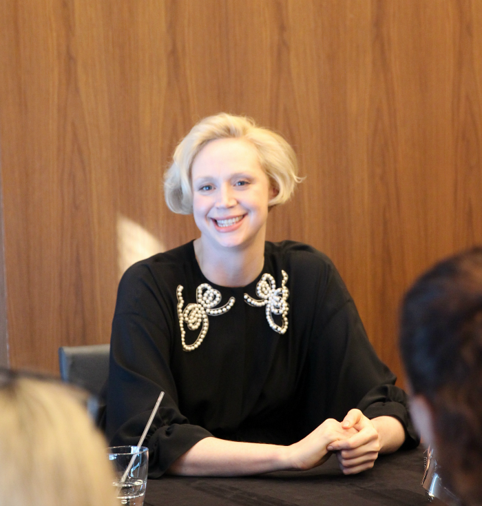 "Exclusive Interview with Gwendoline Christie ""Captain Phasma"" In Star Wars: The Last Jedi. More at CleverlyMe.com"