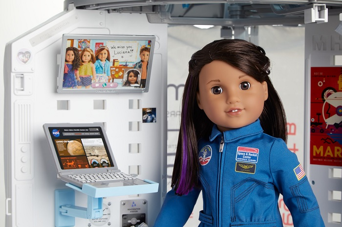 Meet Luciana Vega, American Girl's 2018 Girl of the Year! More at CleverlyMe.com
