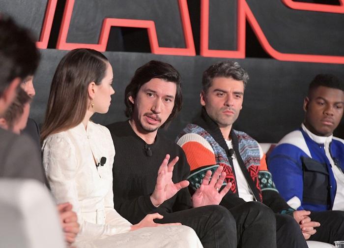 Star Wars: The Last Jedi Global Press Junket. More at CleverlyMe.com