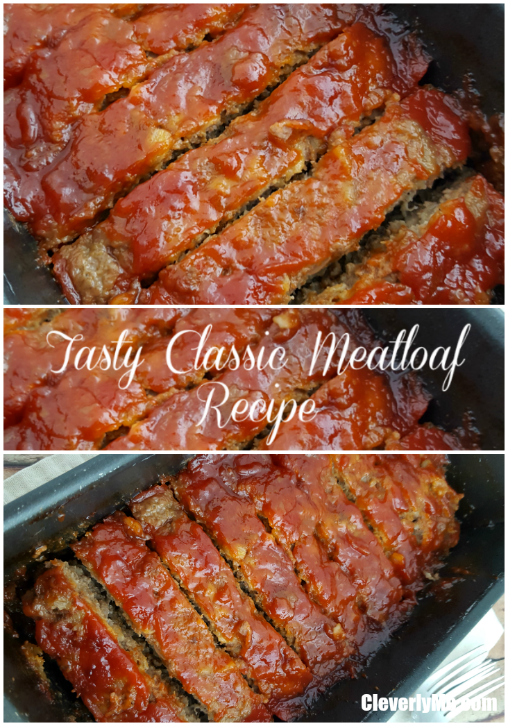 Looking for a meatloaf recipe that is both easy to prepare and full of flavor? Try out Tasty Classic Meatloaf Recipe. More at CleverlyMe.com