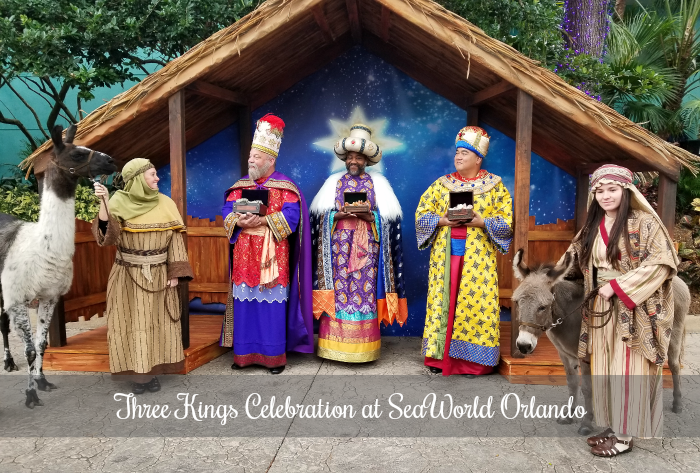 Three Kings Celebration at SeaWorld Orlando