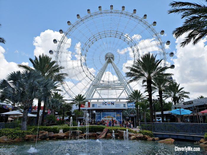 Did you hear the news? The Coca-Cola Orlando Eye is now ICON Orlando, the iconic 400-foot tall observation wheel has undergone a rebranding. More at CleverlyMe.com