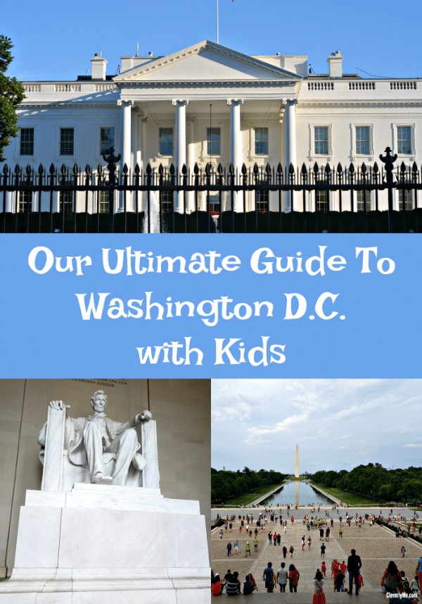 Planning a trip to Washington D.C. soon? Check out our ultimate guide to Washington D.C. with kids. Includes how to get there, where to stay & things to do. More at CleverlyMe.com