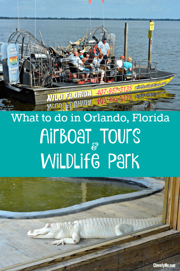 Are you planning a family vacation to Central Florida area and wondering what to do in Orlando? Then you have to visit Wild Florida Airboats and Gator Park.More at CleverlyMe.com
