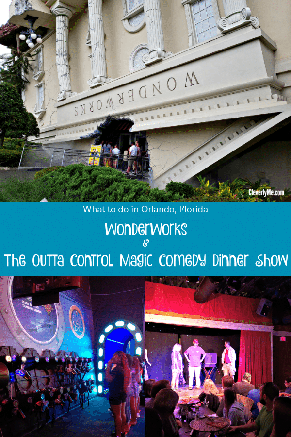 Florida is known for their Family-Friendly entertainment. This is why you and your family have to visit WonderWorks and The Outta Control Magic Comedy Dinner Show. More at CleverlyMe.com