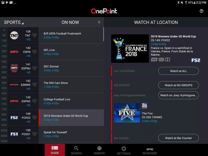 Calling all business owners with several TV systems at their shops! DISH launches DISH OnePoint App for Businesses to make it easy tochange channels and search content across multiple TVs. Find out more below.More at CleverlyMe.com