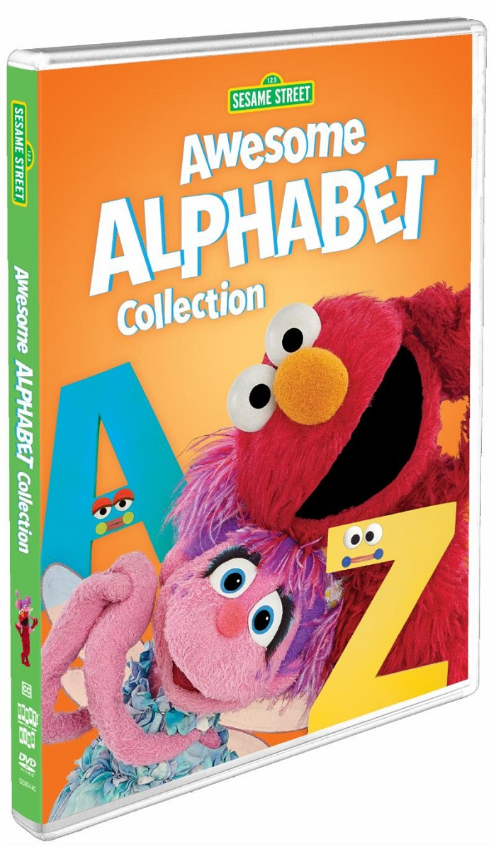 The Sesame Street: Awesome Alphabet Collection is now available on DVD! Head on over to CleverlyMe.com to learn more and to print a free activity and coloring pages package.