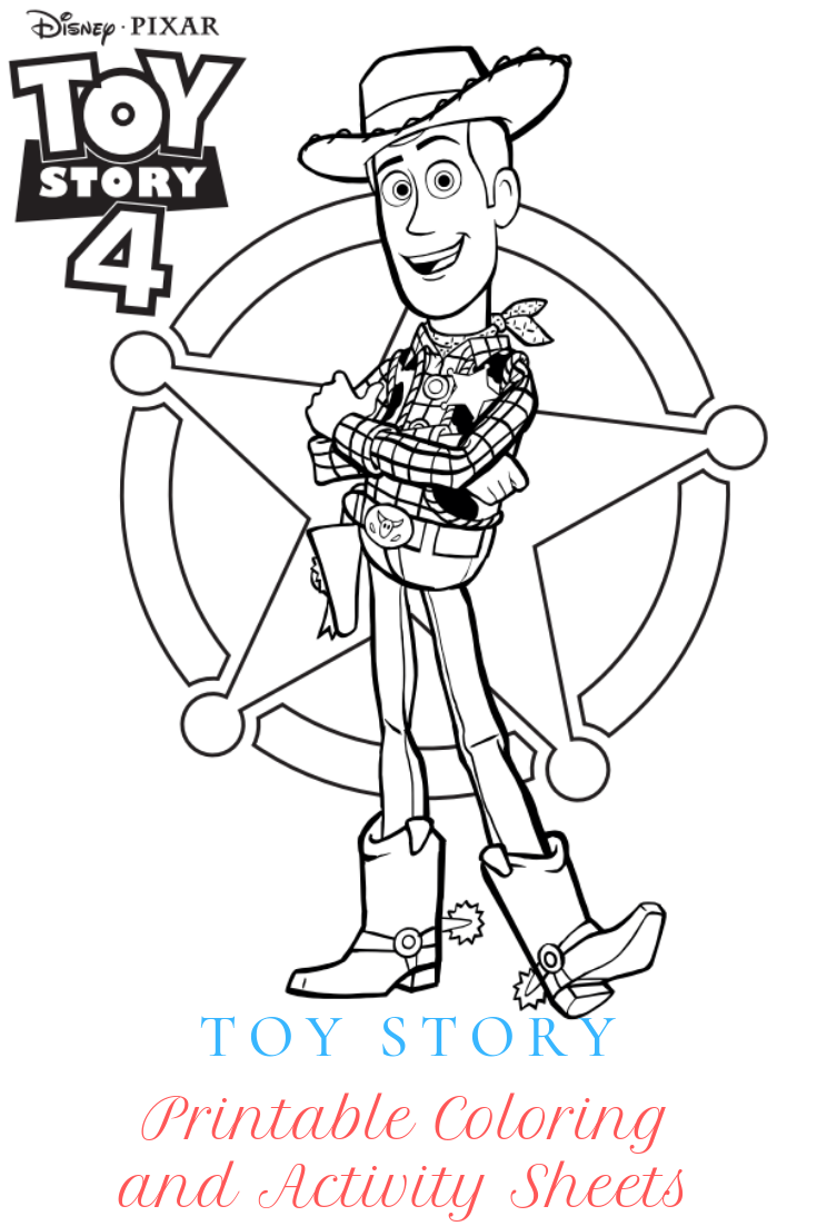 Disney•Pixar's Toy Story 4 Printable Coloring and Activity ...