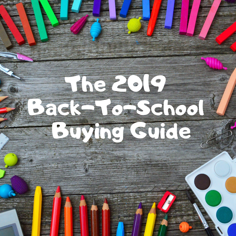It is back-to-school shopping season! Do you need help finding great deals on everything your students need to head back to school? If so, check out the 2019 Back-To-School Buying Guide! More at CleverlyMe.com