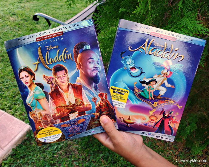 Disney's Aladdin (live-action) and Aladdin Signature Collection Now Available on 4K Ultra HD, Blu-Ray, DVD & Digital. More at CleverlyMe.com