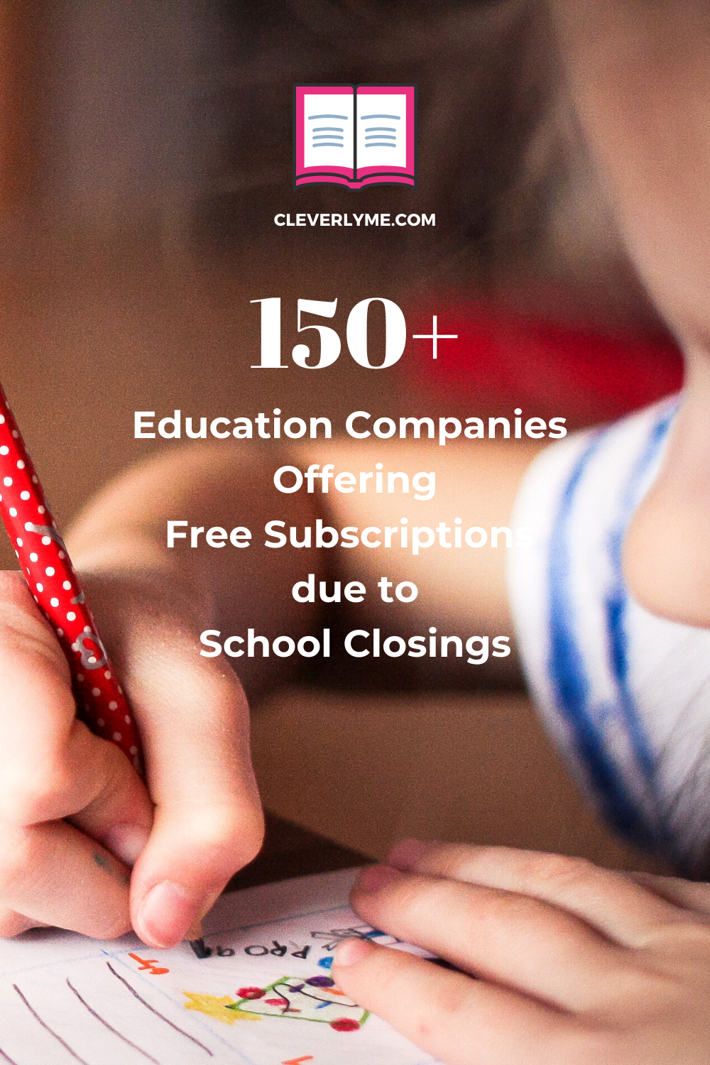 Looking for free subscriptions to help during school closures? Check out this list of Education Companies Offering Free Subscriptions due to School Closings. List found at CleverlyMe.com