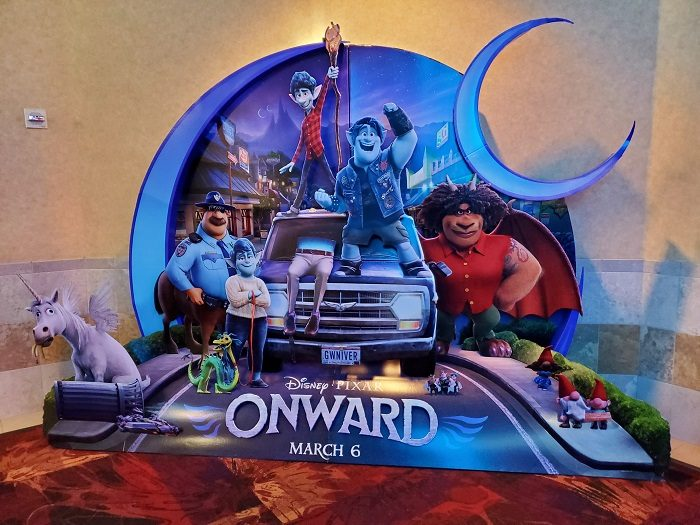 Disney•Pixar's Onward Now Playing! Check out ourOnward movie review (no spoilers) our 4DX Experience. More at CleverlyMe.com