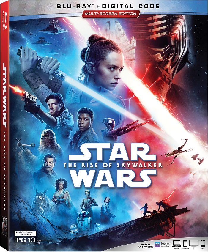 You can finally bring Star Wars: The Rise of Skywalker home today! Star Wars: The Rise of Skywalker is now available on HD, 4K Ultra HD™, Movies Anywhere, 4K Ultra HD™, Blu-ray™ and DVD. More at CleverlyMe.com