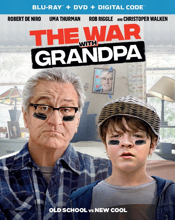 The War with Grandpa Available on Blu-ray, DVD and On-Demand + Giveaway at CleverlyMe.com