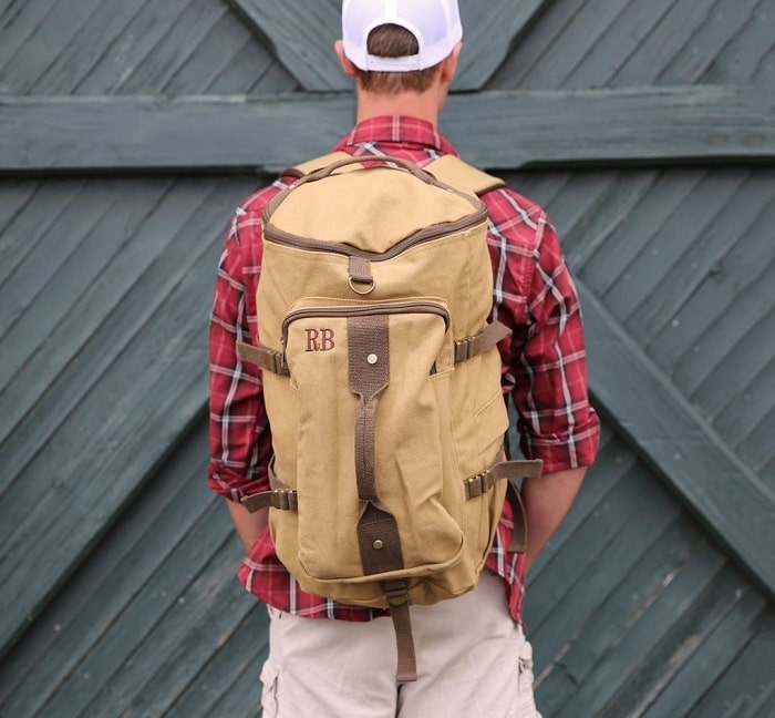 Combat Backpack by Groovy Guy Gifts part of the Valentine's Day Gift Guide found at CleverlyMe,com