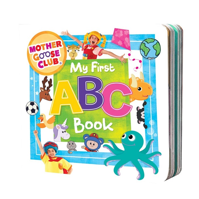 My First ABC Book by The Mother Goose Club part of the Valentine's Day Gift Guide at CleverlyMe.com