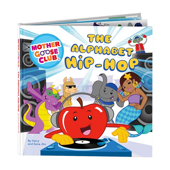 The Alphabet Hip-Hop Book by The Mother Goose Club part of the Valentine's Day Gift Guide at CleverlyMe.com