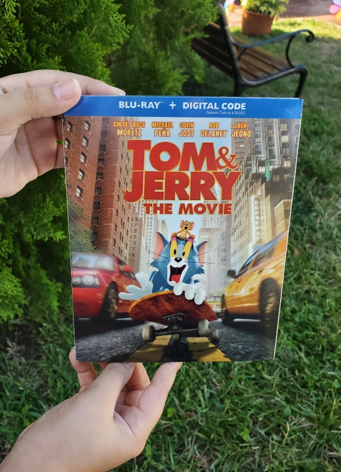 Calling all Tom & Jerry fans, Tom & Jerry The Movie Now Available on DVD and Blu-Ray and available on Digital HD from Amazon Video and iTunes. More info at CleverlyMe.com