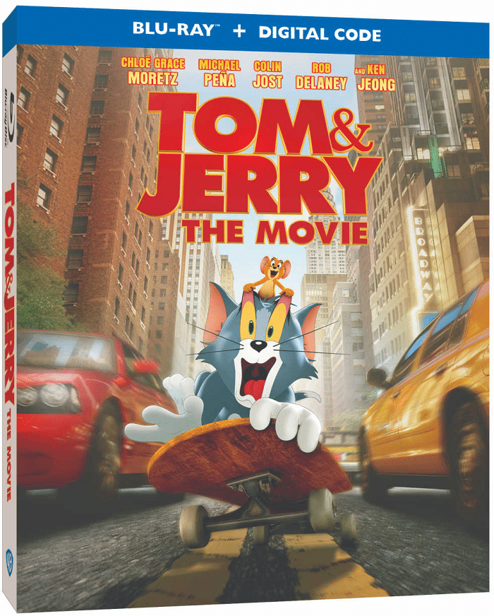 Tom & Jerry The Movie Is now available on DVD and Blu-Ray and available to purchase on Amazon and other retailers. Learn more at CleverlyMe.com