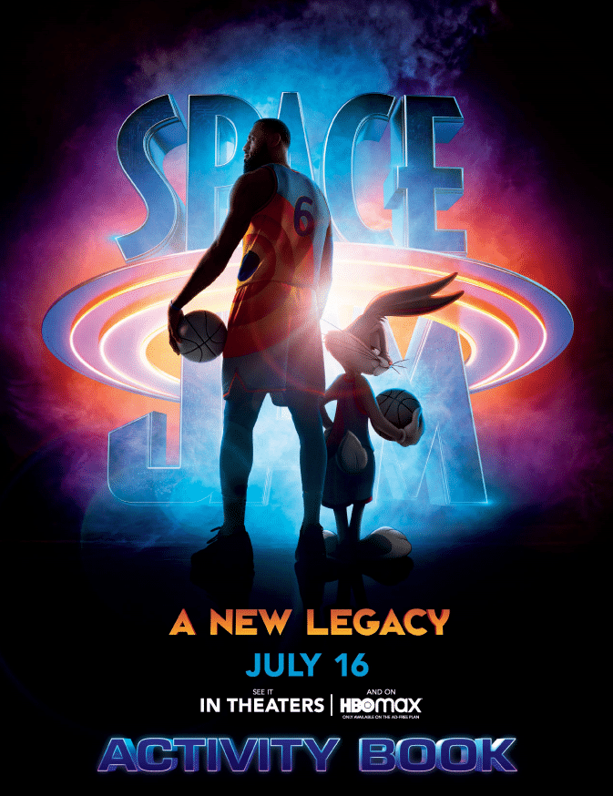 Space Jam: A New Legacy in theaters now, as well as, on on HBO Max! Head on over to CleverlyMe.com to check out our family friendly movie review and to print out a fun activity book.