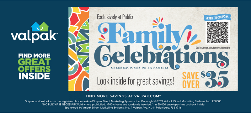 During the Family Celebrations Promotion, you and your family can save over $35! Head on over to CleverlyMe.com to learn more.
